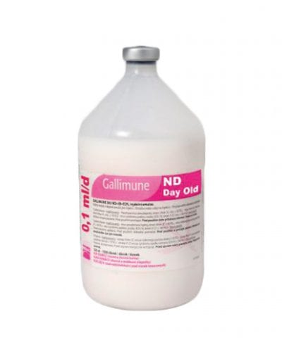 10. GALLIMUNE ND DAY OLD X 500 ML (5000 DS)
